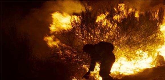 imagem do filme o que arde